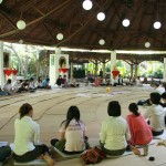 Running workshop on Contemplative Psychotherapy, Sathira Dhammasthan, Bangkok, Thailand